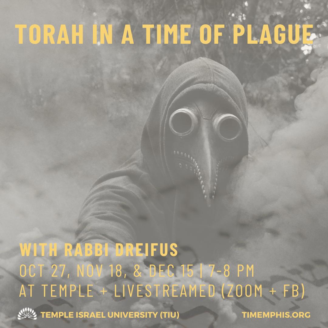Torah in a Time of Plague